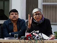 Ink Attack On Arvind Kejriwal: AAP Slams Delhi Police For Lapses In Security