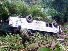 At Least 10 Killed As Assam Bus Falls Into Gorge In Meghalaya