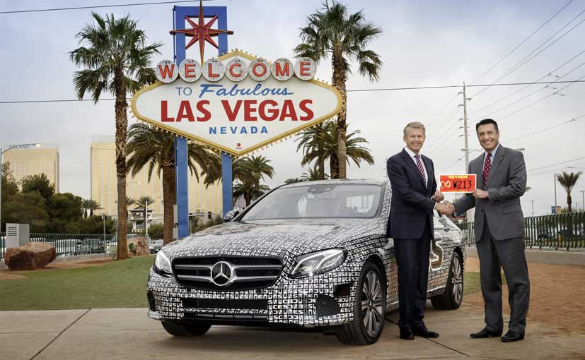 CES 2016: Mercedes-Benz E-Class Awarded Test License For Autonomous Driving in Nevada