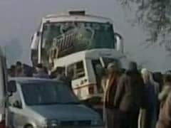 12 Pilgrims Killed As Jeep Rams Into Bus Carrying Foreigners In Uttar Pradesh
