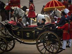 For Beating Retreat Ceremony, President Brings Back The Buggy