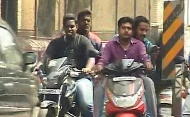 4,500 Bikers Fined For Riding Without Helmets During Shab-E-Baraat Celebrations In Delhi