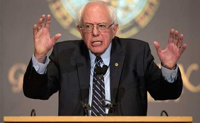 Bernie Sanders Vowing To Break Up Big Banks If Elected President