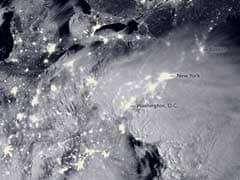 NASA Captures Massive US East Coast 'Snowzilla' From Space