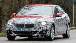 BMW 1 Series Sedan Spotted Testing Again With Lesser Camouflage