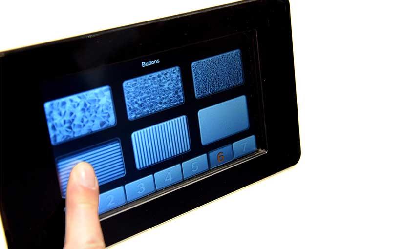 Bosch Haptic Touchscreen