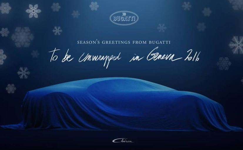 Bugatti Chiron Will Reportedly Offer Top-Speed of 467Km/h