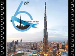 Burj Khalifa Issues Commemorative Stamp On Sixth Anniversary