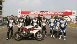 California Superbike School Announces Dates for India