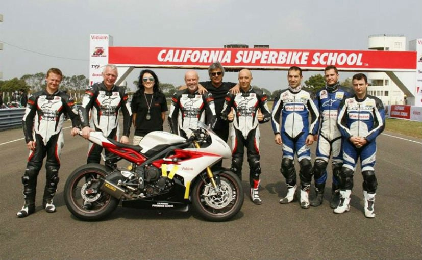 California Superbike School Announces Dates for India