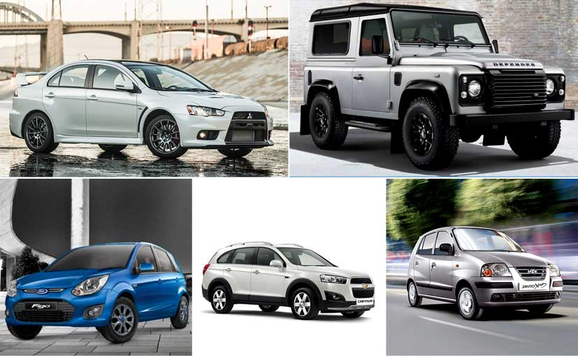 5 Cars We'll Miss in 2016