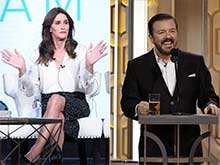 Caitlyn Jenner Gives Ricky Gervais a Major Burn Over Golden Globes Joke