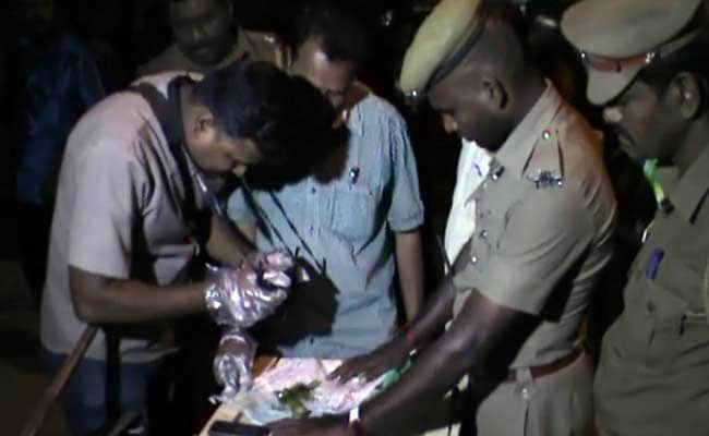 Crude Bombs Thrown At Shop In Madurai