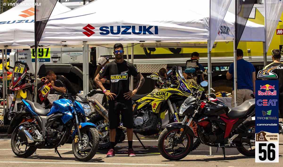 Dakar 2016: After Stage 3, CS Santosh Is 82nd Overall