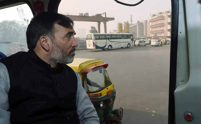 Odd-Even Rule: Delhi Government Ministers Come To Office In Bus, Motorbike