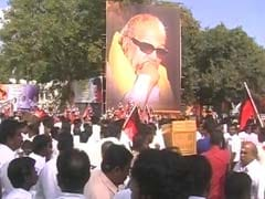DMK Asks Partymen To Cut Down On Banners