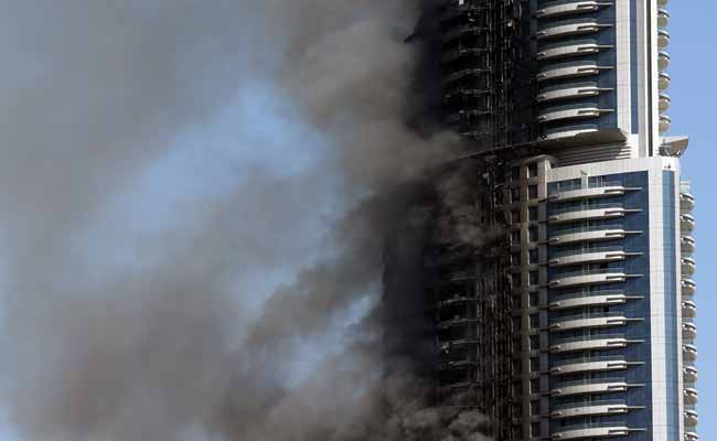 Dubai Probes Cause Of Massive New Year's Eve Hotel Fire