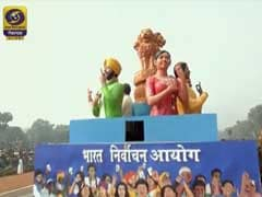 Election Commission Republic Day Float Had Message Of Inclusion