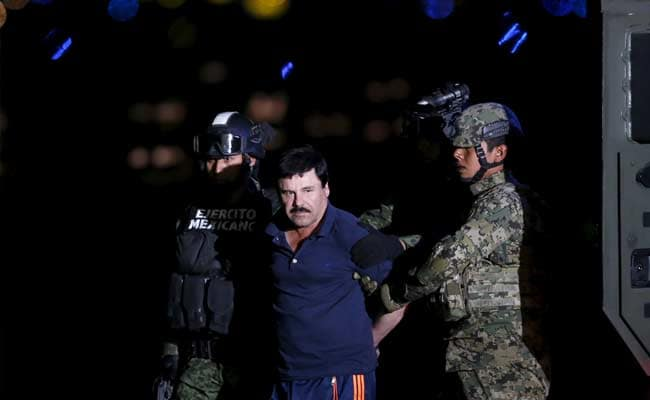 Mexico Drug Lord Guzman To Face US Extradition Hearing