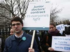 Doctors Stage Third Strike In English Hospitals