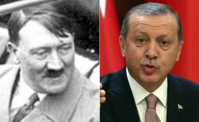 Turkey's President Tayyip Erdogan Cites Adolf Hitler's Germany As Example Of Presidential System