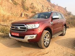 The Ford Endeavour's Manual Transmission Variants Discontinued In India