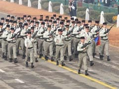 In A First, French Soldiers March Down Rajpath On Republic Day
