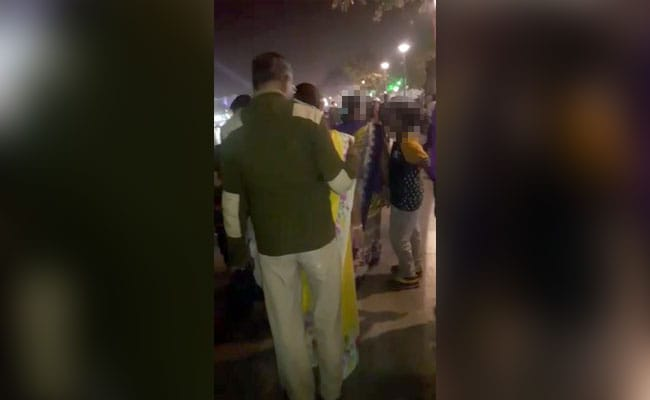 Video Of Cop Molesting Girls At Cultural Fest Goes Viral; Probe Ordered