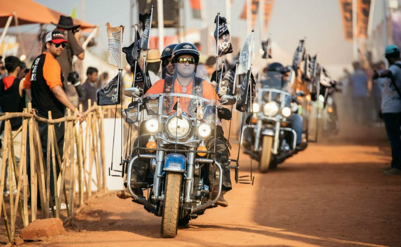 Harley Riders India Bike Week