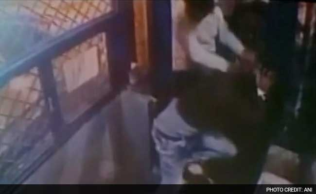 Caught on Camera: Haryana Toll Booth Employee Thrashed