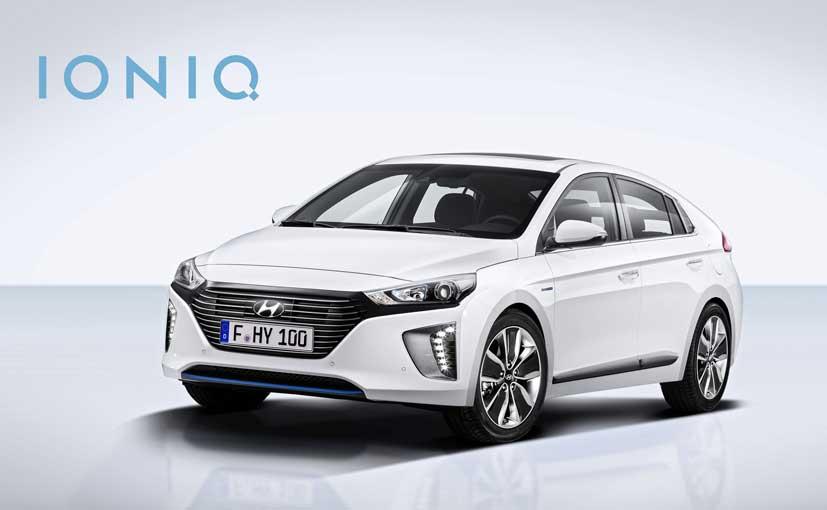 Hyundai ioniq hybrid pris