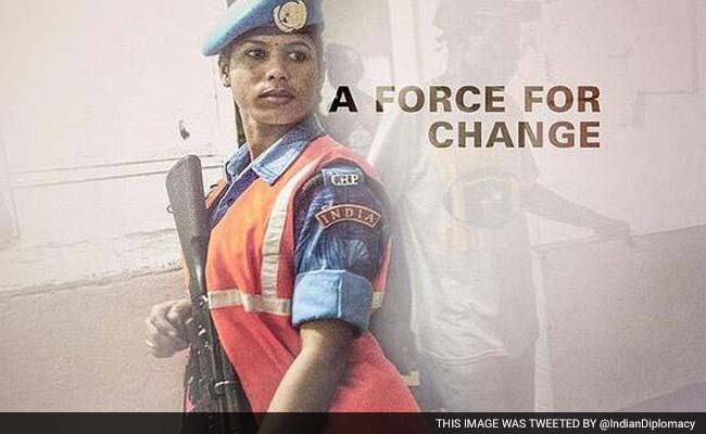 Indian Women Peacekeepers Inspire Liberian Girls