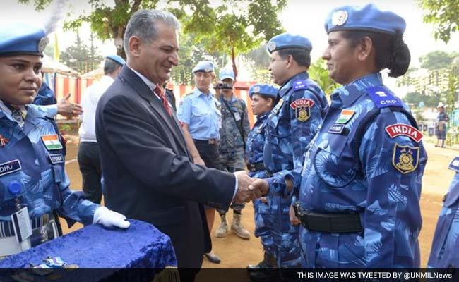 UN Awards Medals To Indian Peacekeepers For Courage In Liberia