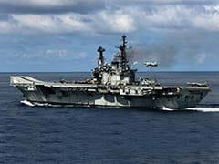 INS Viraat To Be Developed As Tourism Centre: Chandrababu Naidu
