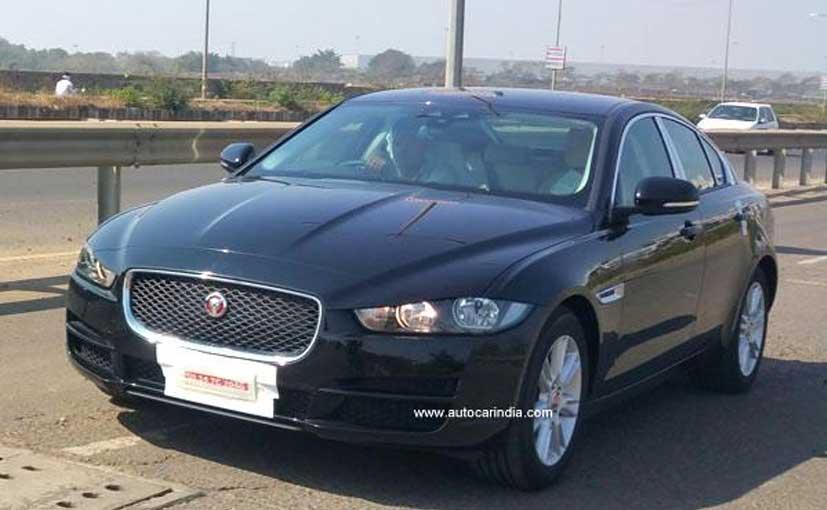 Jaguar XE spied