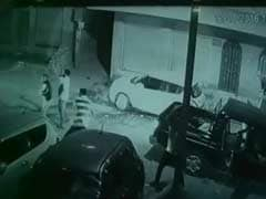 Caught On CCTV: Jodhpur Gang-War With Cars Smashed, Bullets Fired