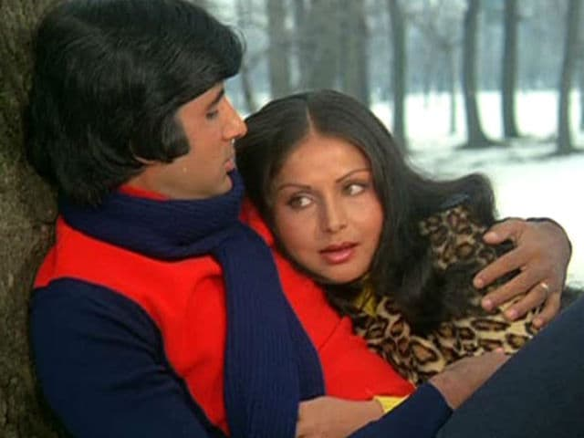 Amitabh Bachchan Gets Nostalgic as Kabhi Kabhie Completes 40 Years