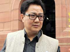 Malegaon Blast Probe 'Dramatic Act Created By Congress': Kiren Rijiju