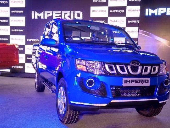 Mahindra Imperio लॉन्च हुई, कीमत 6.25 लाख रुपये से शुरू