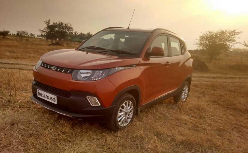 Mahindra KUV100s Sales Cross The 50,000 Mark In India