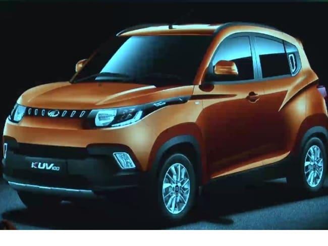 Mahindra KUV100 के इंटीरियर की तस्वीर इंटरनेट पर लीक हुई