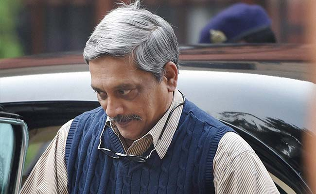 Defence Minister Manohar Parrikar Briefs Cabinet On Pathankot Terror Attack