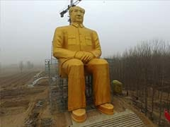 Why China Has Destroyed A Giant Gold-Plated Statue of Mao