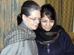 सोनिया गांधी ने श्रीनगर में महबूबा मुफ्ती से मुलाकात की, सियासी अटकलें तेज