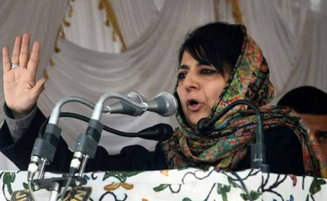 Mehbooba Mufti Yet To Convene Legislature Party Meet in Jammu and Kashmir