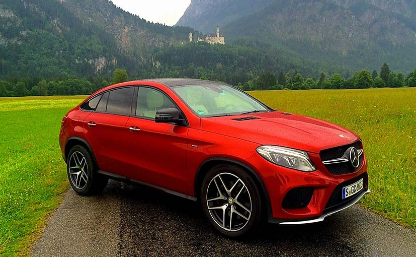 Mercedes benz gle coupe 450 amg review ndtv carandbike for Mercedes benz gle coupe for sale