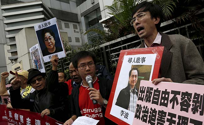 Hong Kong Says 'No Indication' China Involved In Case Of Missing Booksellers