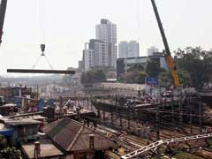 Central Railway Operates 18-Hour Mega Block To Dismantle British-Era Bridge