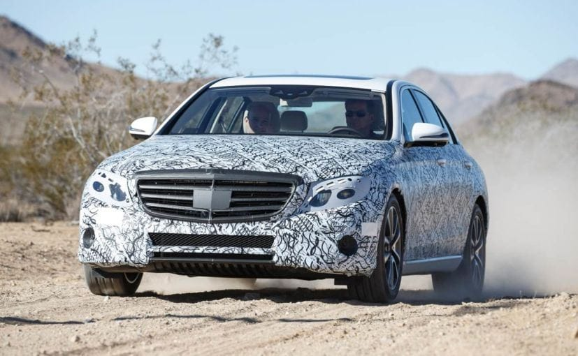 New Mercedes-Benz E-Class Official Testing Images Released