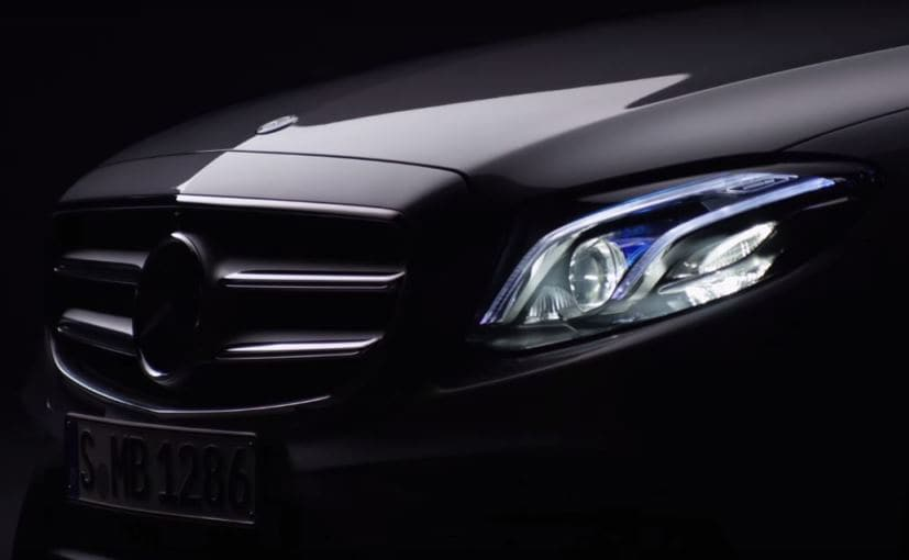 New Mercedes-Benz E-Class Teaser Released; World Premiere on January 11